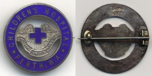 Perth Children's Hospital badge