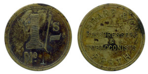 Sharp & Co 1 shilling