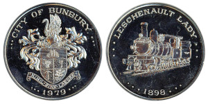 City of Bunbury 1979 Silver