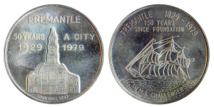 Fremantle City 50th Silver