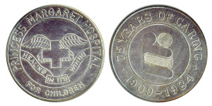 Princess Margaret Hospital 1984 Silver