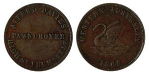 Alfred Davies 1865 1d