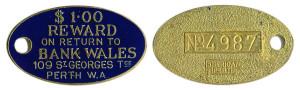 Bank Wales No 4987