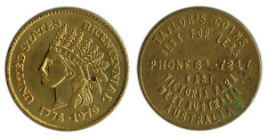 Taylors Coins 1976