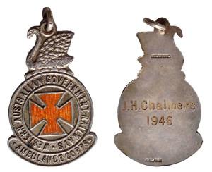WAGR Ambulance Corps (JH Chalmers, 1946)