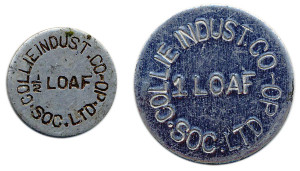 Collie bread tokens