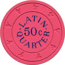 Latin Quarter 50c