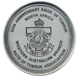 Coaster 50th anniversary Tobruk 1991