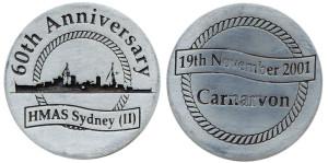 HMAS Sydney II 60th anniversary