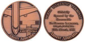 ANSETT Perth Domestic Terminal 1991