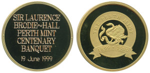 Perth Mint Centenary Banquet (Brodie-Hall)