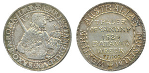 1587 Saxony thaler (Museum copy No 77)