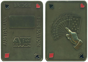 Australian Bridge Federation plaque