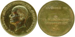 Cletus Oakley medal 1