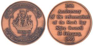 Shire of Shark Bay - Dirk Hartog (Antique Bronze)