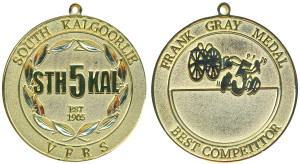 South Kalgoorlie VFRS Frank Gray medal