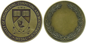 UWA ECM Engineering(Antique Brass)