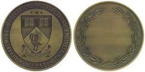 UWA EE Engineering(Antique Brass)