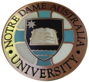 University Notre Dame Australia Vice-Chancellor's medal