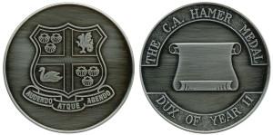C A Hamer Medal (Wesley)
