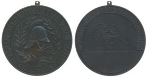 Western Australian Volunteer Fire Brigade Association Championships dark frosted bronzed 51mm